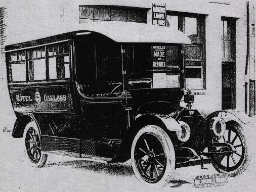 1910 Gillig Bros. Built Bus