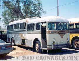 A semi-converted 1955 Crown Supercoach.