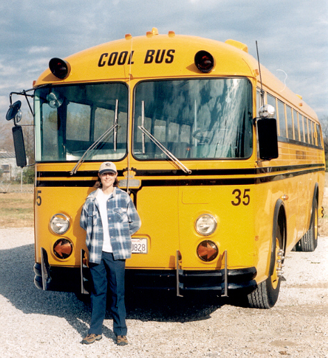 """The Buskid"" and ""COOL BUS"" # 35, Photo Date - November 10, 2003"