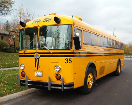 """The Buskid's"" 1969 Crown Supercoach as it appears today."